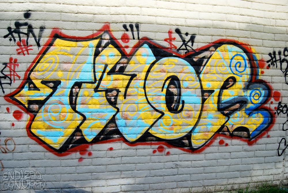 Thor Graffiti.