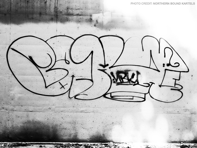 BAKE BPF NBK Graffiti Throwie Contest Winner.