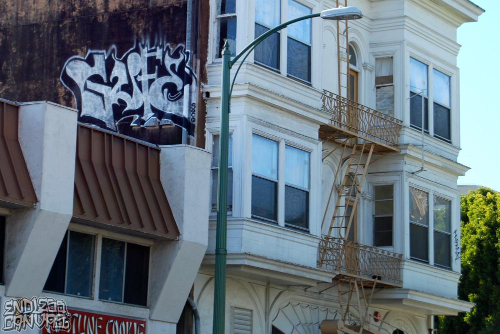GUFERoofGraffiti-OaklandCA