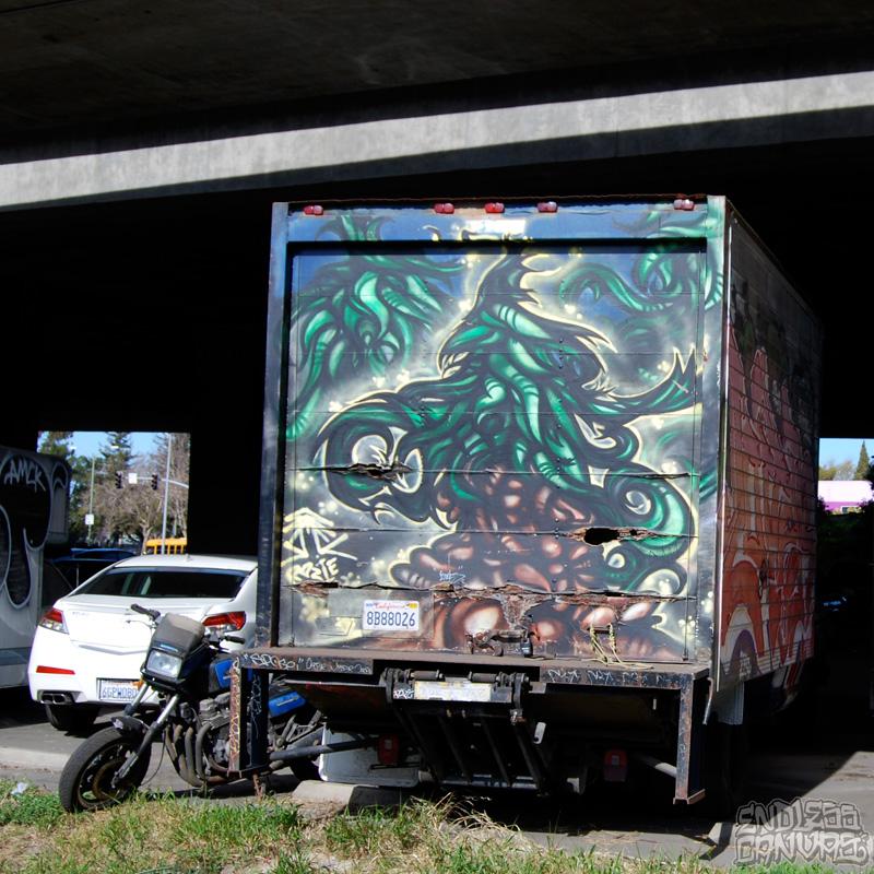 PLANTTREESTruckGraffiti-OaklandCA
