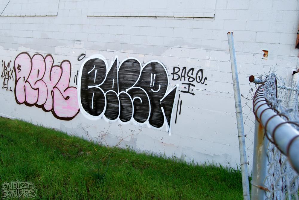 REKS BASQ Graffiti Oakland CA.