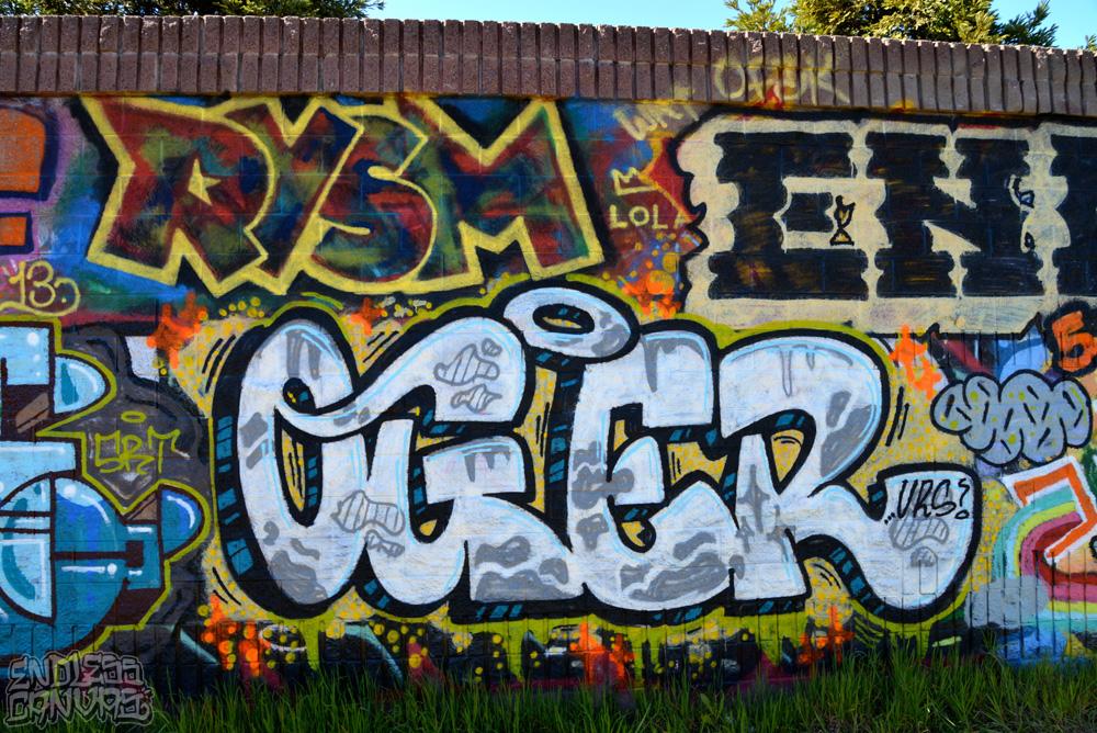 rysm oger graffiti.