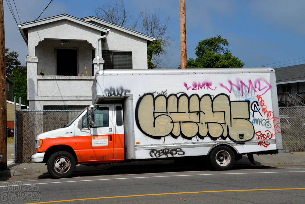 Chan Truck in Oakland California