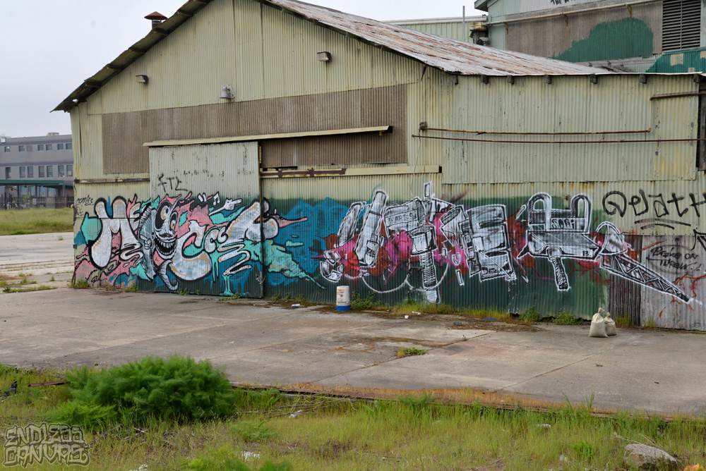 MECK UTER Graffiti - East Bay CA.