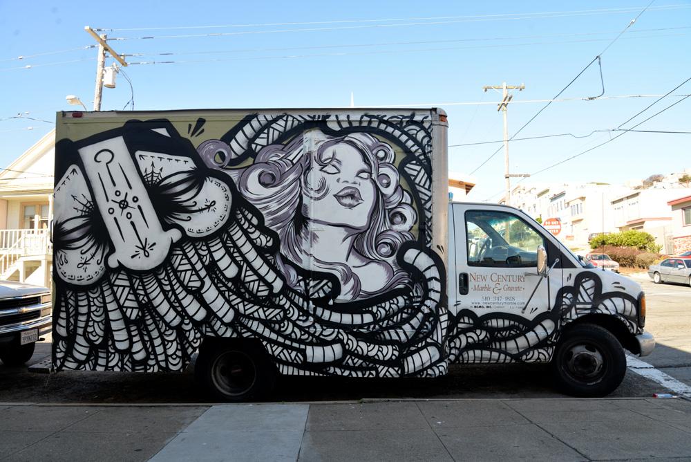 GATS NO BONZO Truck - San Francisco CA.