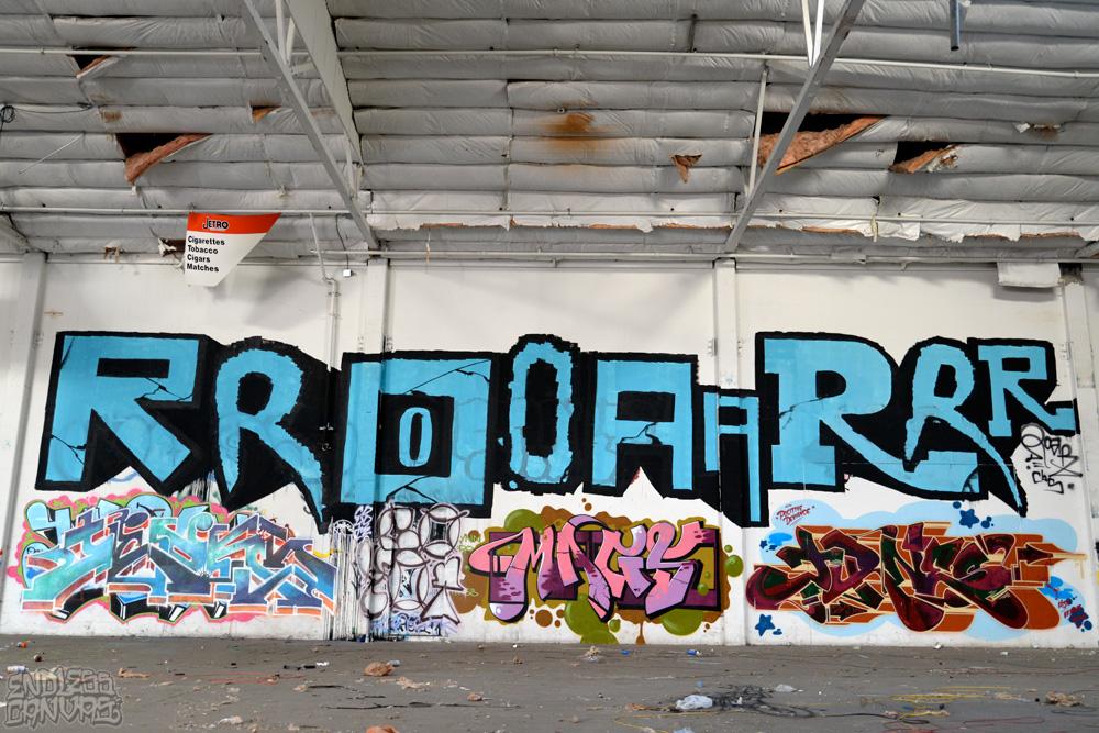 ROAR JURNE MAGS - Oakland CA.