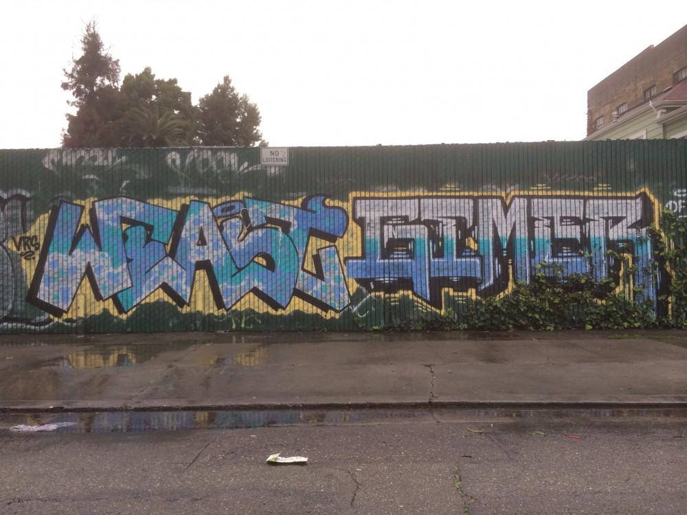 Weast gimer graffiti