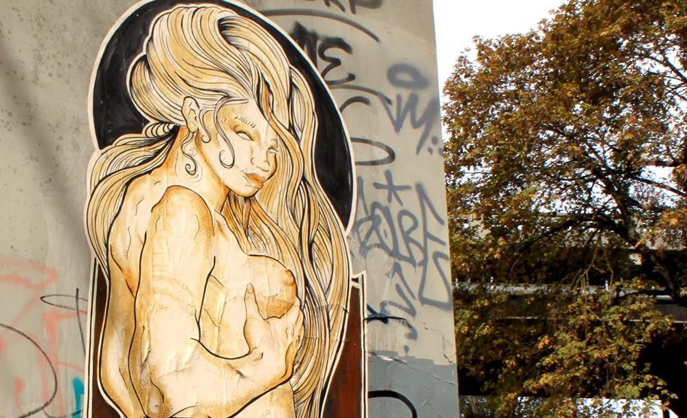 No Bonzo Street Art.