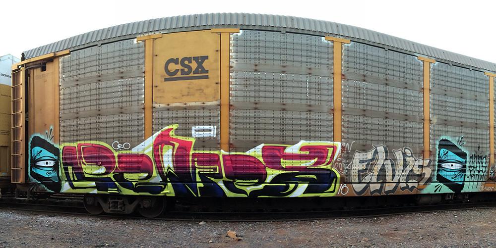 Gats Pemex Elvis Mexico Graffiti.