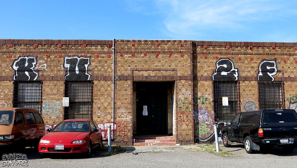 KU2F Graffiti Oakland California.