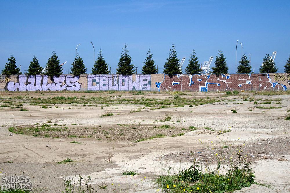 Jules Celowe Closer Graffiti East Bay California.
