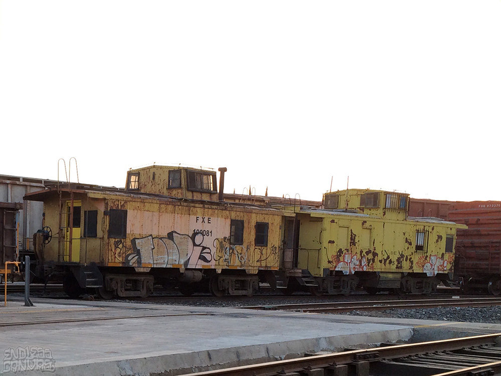 Toopi Graffiti Train Jalisco Mexico.
