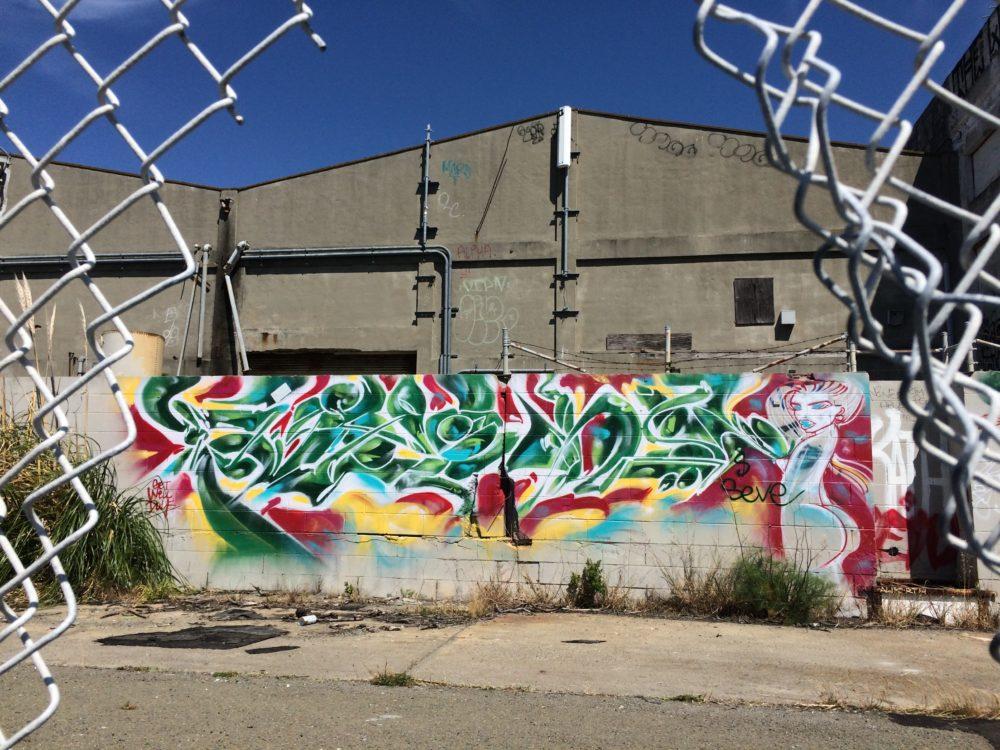 CEAVER graffiti.