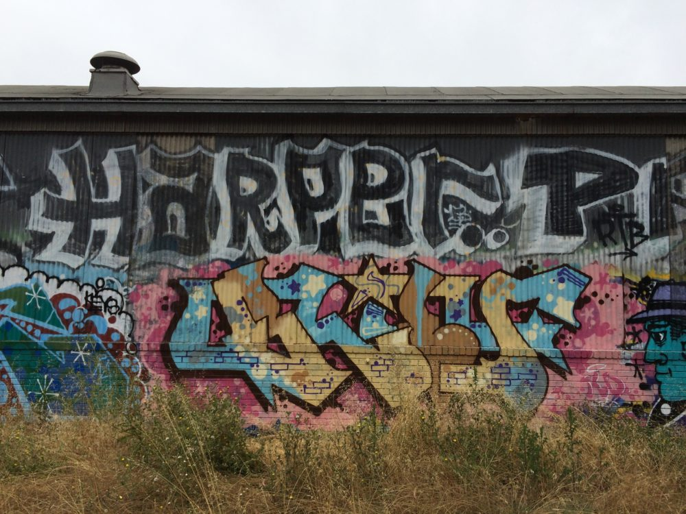 Harper belief Graffiti Bay Area.