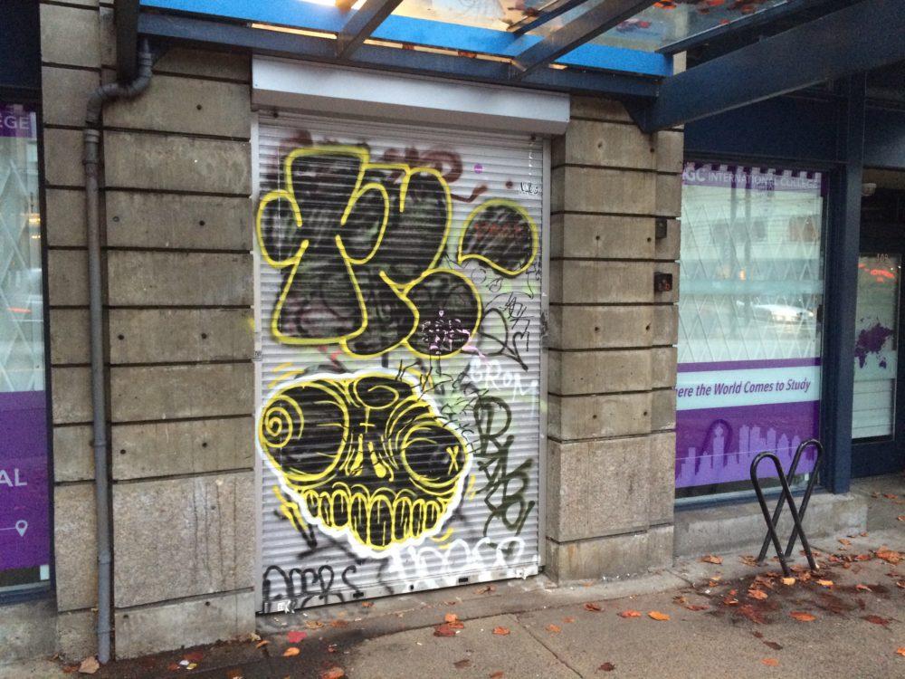 Vancouver Canada Graffiti.