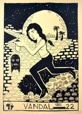 Nina Vandal Poster.