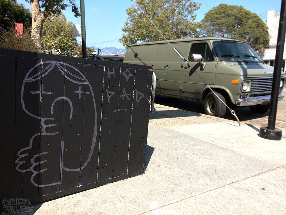 Boi Toy Graffiti Oakland CA.