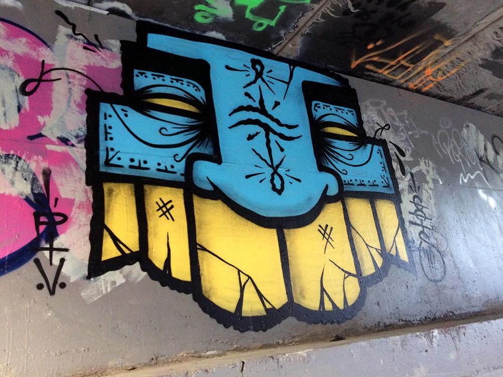 GATS PTV Graffiti San Luis Obispo CA.