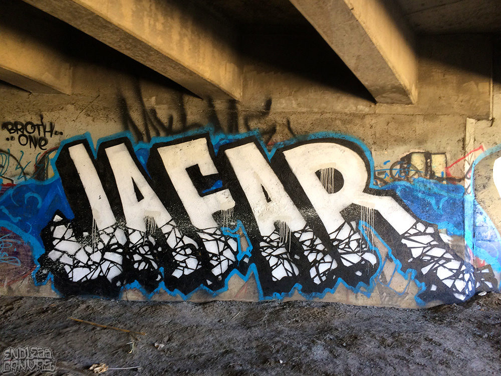 JAFAR Graffiti San Diego California.