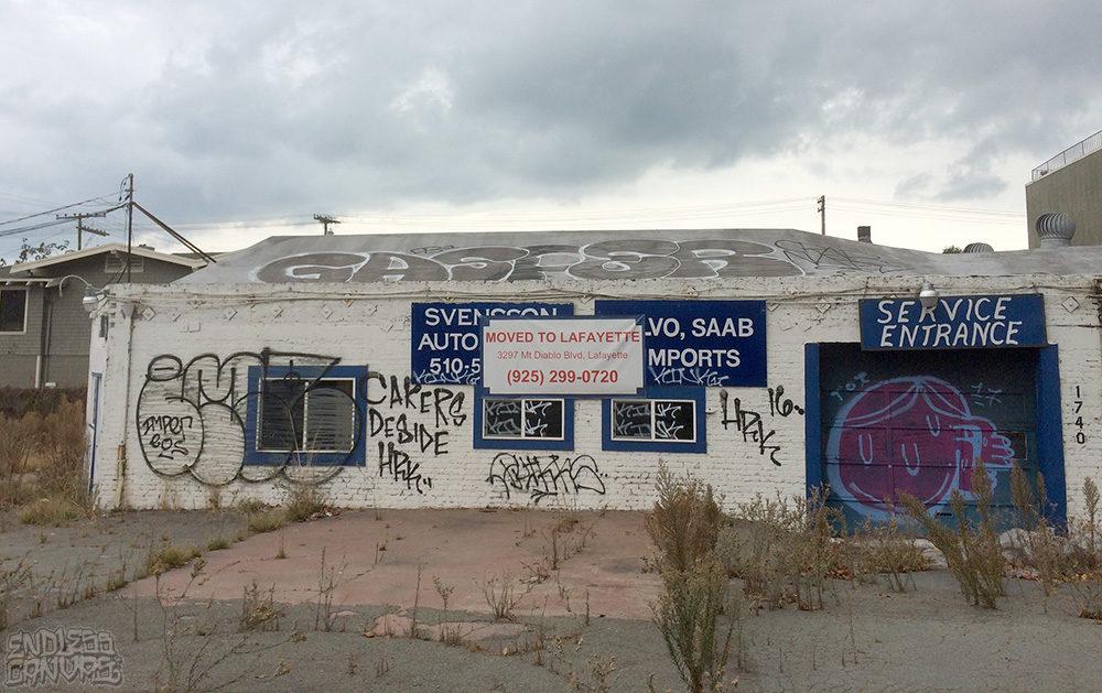 IMP Gasper Boi Toi Graffiti Berkeley CA.