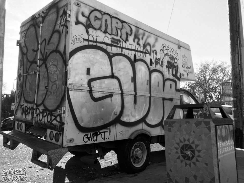 Check Guns Gnart Graffiti.