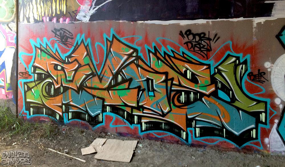 Evoe Graffiti San Diego CA.
