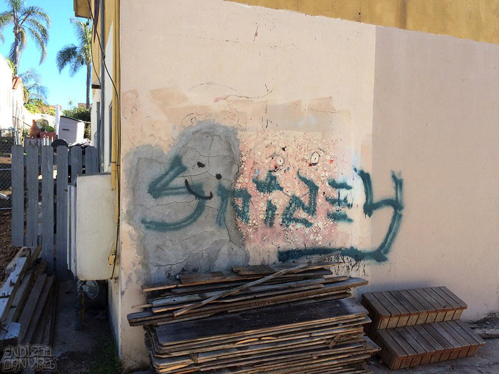 Spidey Graffiti San Diego CA.
