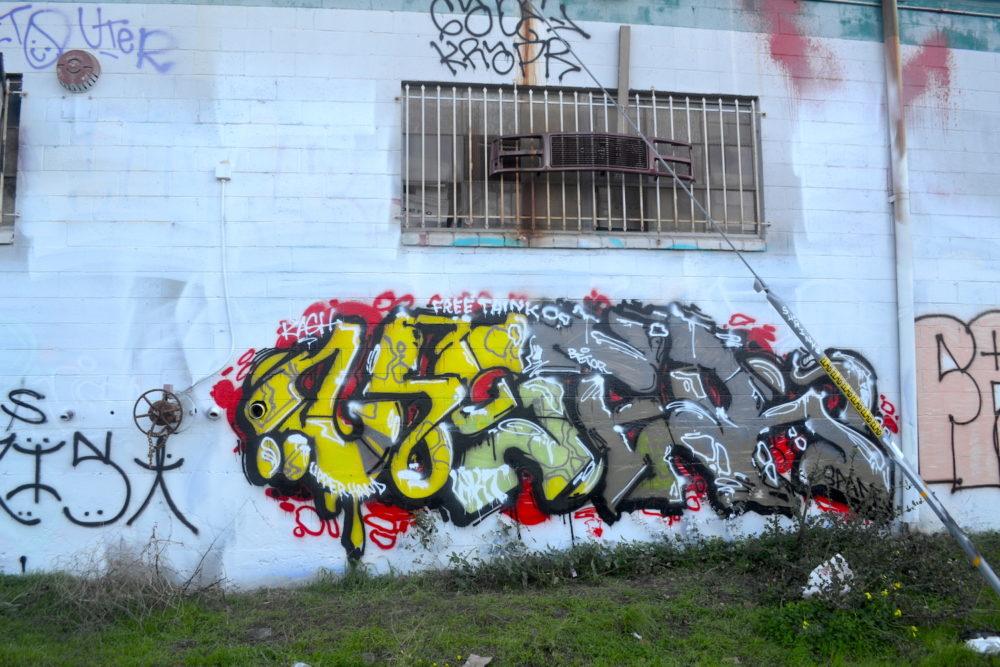 User WKT UH Graffiti in Oakland CA.